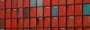 Containers at a Terminal Port