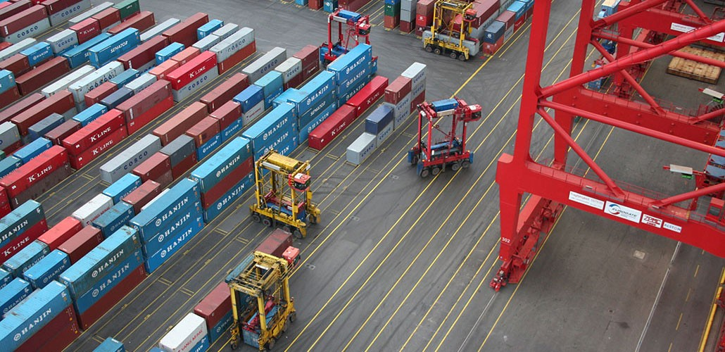 Container Yard RTG Movement